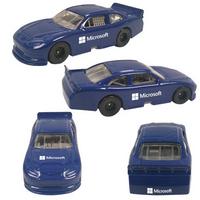 "3""x1-1/4""x3/4"" Blue Nascar Style Die Cast Car"
