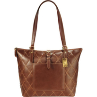 Cutter & Buck® Bainbridge Quilted Leather Tote