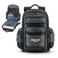 Deluxe Tech Organizer Laptop Backpack