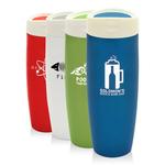 14 oz Vacuum Travel Mug w/ Touch Stopper