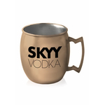 16 oz Stainless Steel Copper Coated Moscow Mule Mug
