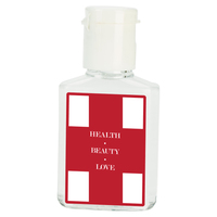 1/2 oz. Flat Antibacterial Hand Sanitizer Bottle