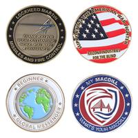 Die Struck Zinc Challenge Coin
