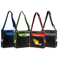 Multi-Pocket Messenger Shoulder Tote
