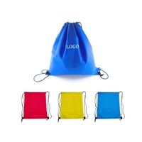 80GSM Non-Woven Drawstring Cinch Backpack