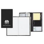 Large Notepad with Ziplock Pocket