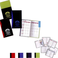 """Styles """"Holland"""" 2-Tone Soft Vinyl Cover Pocket Planners"""