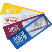 """Page Mark Bookmark Magnifier with 4"""" Ruler"""