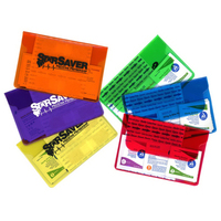 First Aid Purse in Ultra Vibrant TEK Translucent Vinyl Color