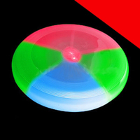 BLANK LED Flying Disc 8 Inch - Multicolor