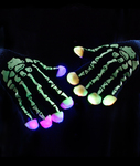 BLANK LED Skeleton Gloves