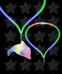 LED Flashing Lanyard - Dolphin Light Up