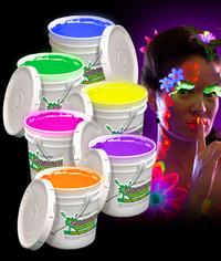 BLANK Glominex Glow Body Paint 128oz Buckets - Assorted