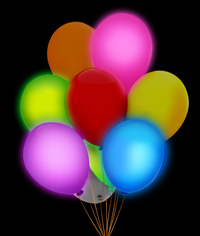 LED 14 Inch Blinky Balloons