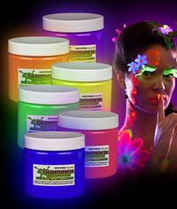 BLANK Glominex Glow Body Paint 16oz Jars - Assorted
