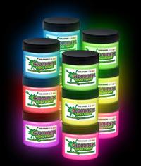 BLANK Glominex Glow Paint 1 oz Jars