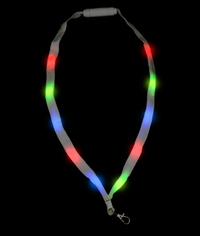 BLANK LED Cloth Lanyard - Multicolor
