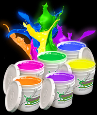 Glominex Glow Paint Assorted Gallons Light Up