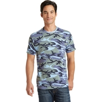 Port & Company Core Cotton Camo Tee.
