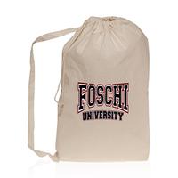 Collegiate Cotton Laundry Bag