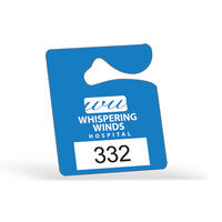 "Plastic 23 pt. Hanging Parking Permit (2 1/2""x3"")"