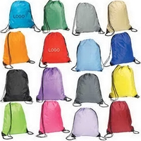 High Quality 210 Denier Drawstring Backpack Bag