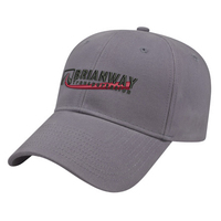 Structured Brushed Cotton Twill Cap