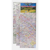 Napa-Sonoma Wine Country Map and Guide