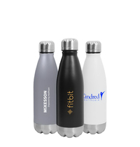 Hydro-Soul Insulated Stainless Steel Water Bottle - 16oz