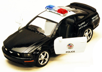"""5"""" 1/38 scale Die Cast Ford Mustang Police Car"""