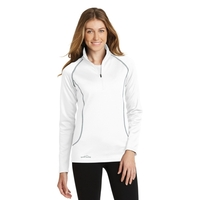 Eddie Bauer Ladies 1/2-Zip Base Layer Fleece.