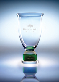 Triomphe Crystal Cup Award - Small