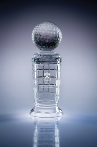 Empire Lead Crystal Golf Cup Award