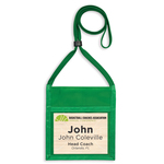 Triple Play Max, Small, Nylon, Blank Name Tag Pouch
