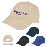 Brushed Cotton Twill Cap