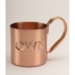 Solid Copper Moscow Mule Mug. 10 oz.