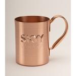 Solid Copper Moscow Mule Mug. 14 oz.