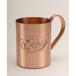 Solid Copper Moscow Mule Mug. 12 oz.