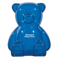 Plastic Bear Shape Bank