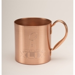 Solid Copper Moscow Mule Mug. 16 oz.
