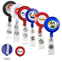 "30"" Cord Retractable Badge Reel"