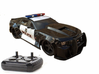 1/18 Scale 2014 Chevy Camaro Police Car Radio Remote Control