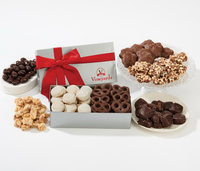 Christmas Food Gift Box - Sea Salt Caramels & Peanuts