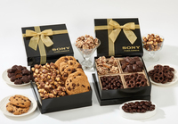 The Chairman Popcorn & Cookie Gift Box - Caramel