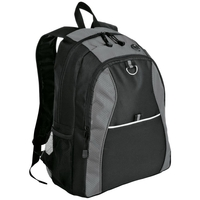 Port Authority Contrast Honeycomb Backpack.