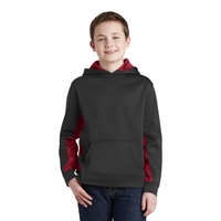 Sport-Tek Youth Sport-Wick CamoHex Fleece Colorblock Hood...