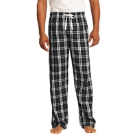 District - Young Mens Flannel Plaid Pant.