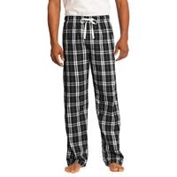 District - Young Mens Flannel Plaid Pant.