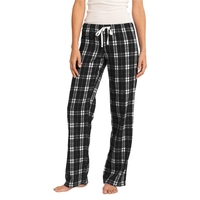 District - Juniors Flannel Plaid Pant.
