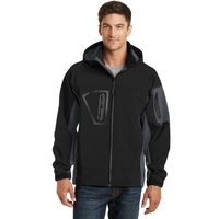 Port Authority Tall Waterproof Soft Shell Jacket.